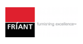 office furnishings edmonton - friant logo