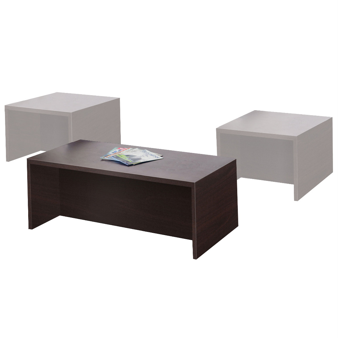 TIMELESS Espresso Coffee Table - Office Furniture ...