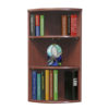 Curved Corner Open Bookcase 36-1