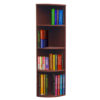 Curved Corner Open Bookcase 66-1