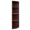 Curved Corner Open Bookcase 66-2