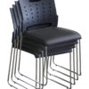 TECHNIK Stacking Chair (Vinyl Seat)-2