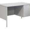 TUFFMAXX Single Pedestal Steel Desk-1