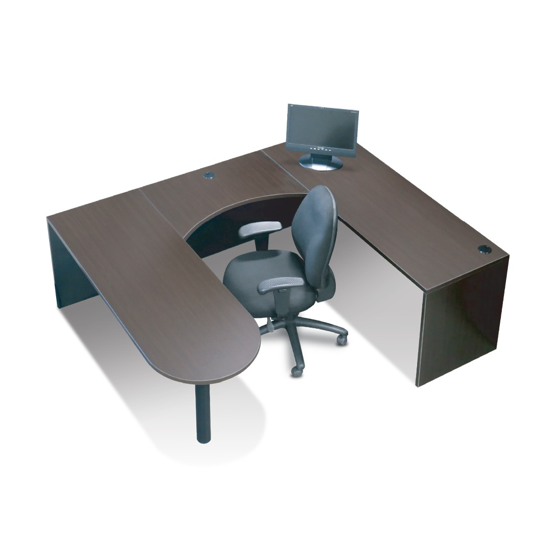 Timeless U Shape Work Station Small Office Space Edition
