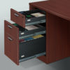 Timeless Straight L-Shape Bowfront Workstation -2