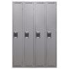 TUFFMAXX Locker- 1-door, 4-bank-1