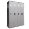 TUFFMAXX Locker- 1-door, 4-bank-2