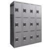 TUFFMAXX Locker- 3-door, 4-bank-2