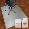 Chair Mat – rectangular – hard floor-1
